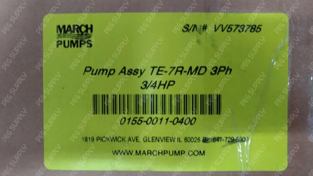 [PEG SUPPLY] March Motor Pump Assy TE-7R-MD 3Ph 3/4HP