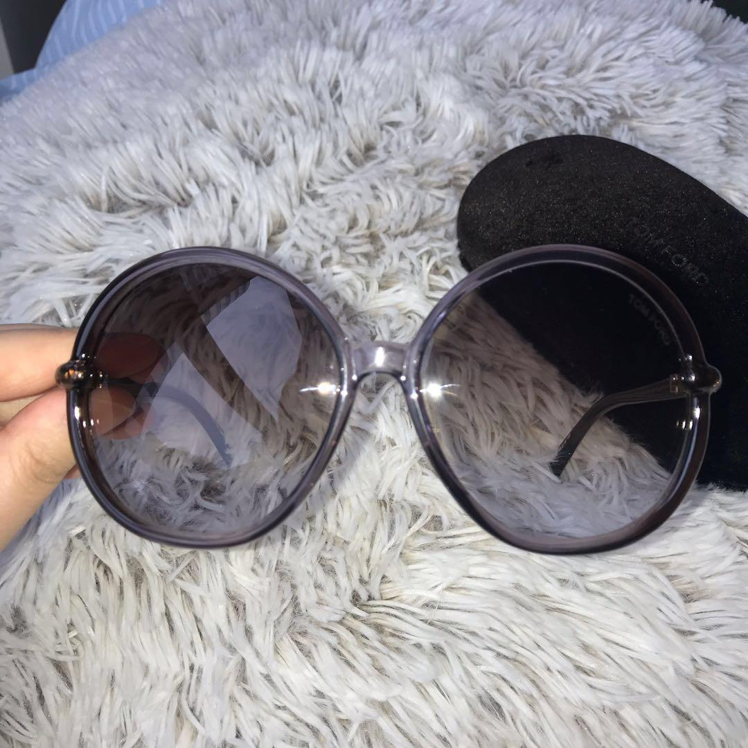 *Perfect Condition* Tom Ford Caithlyn TF167 50F Sunglasses in Purple