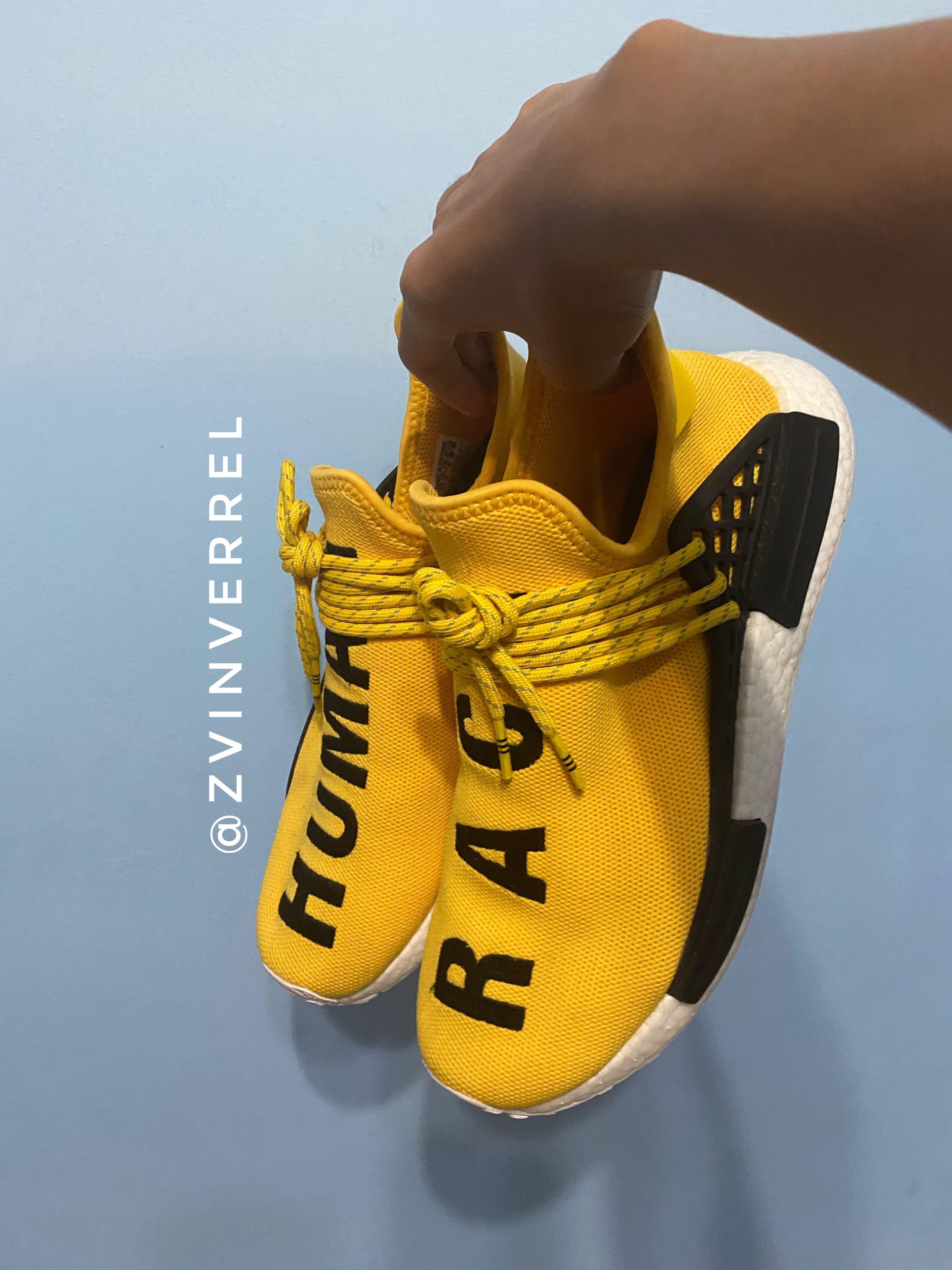 🔥 UA Pharell x NMD Human Race 'Yellow