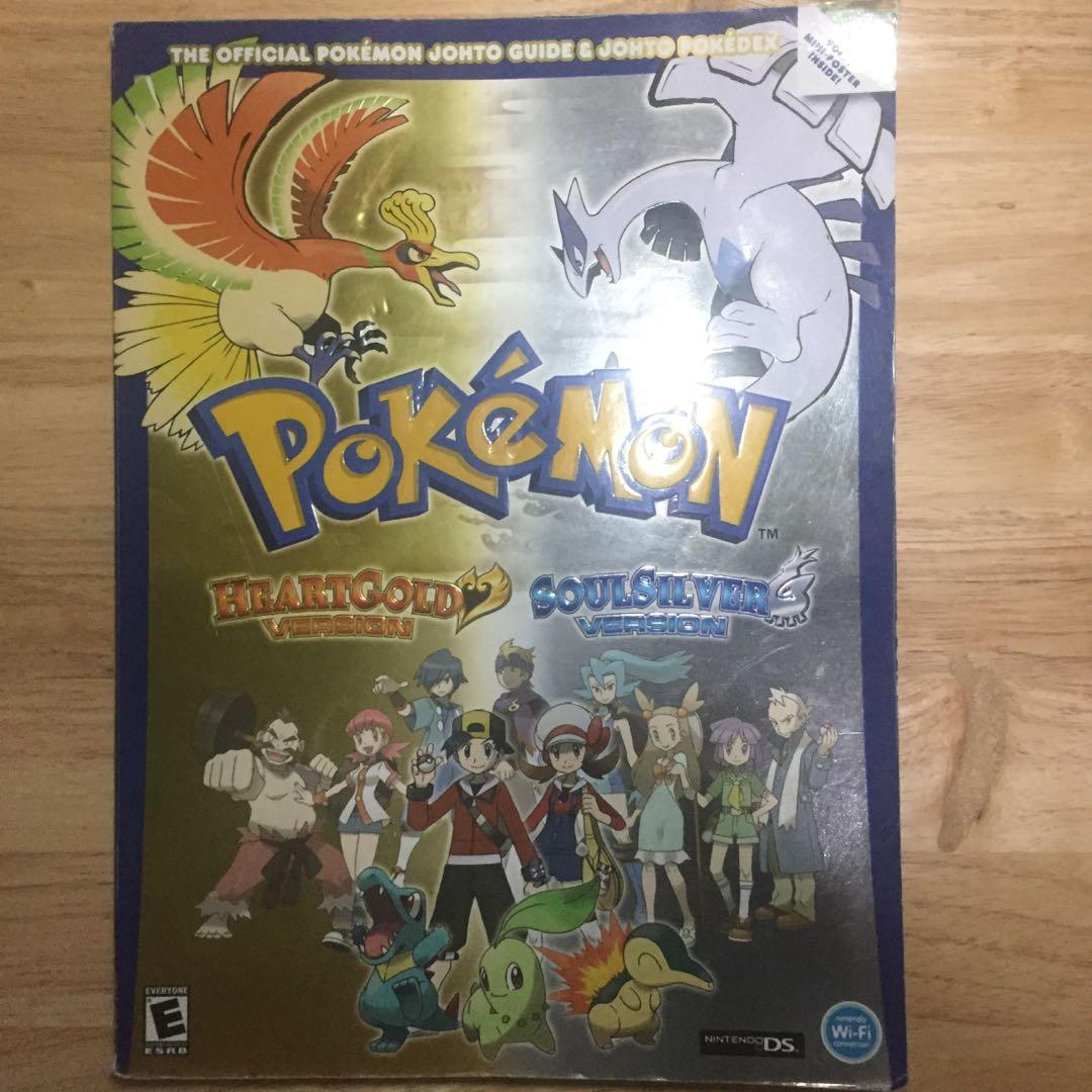 Pokemon HeartGold & SoulSilver Vol.1 Official Johto Guide & Pokedex