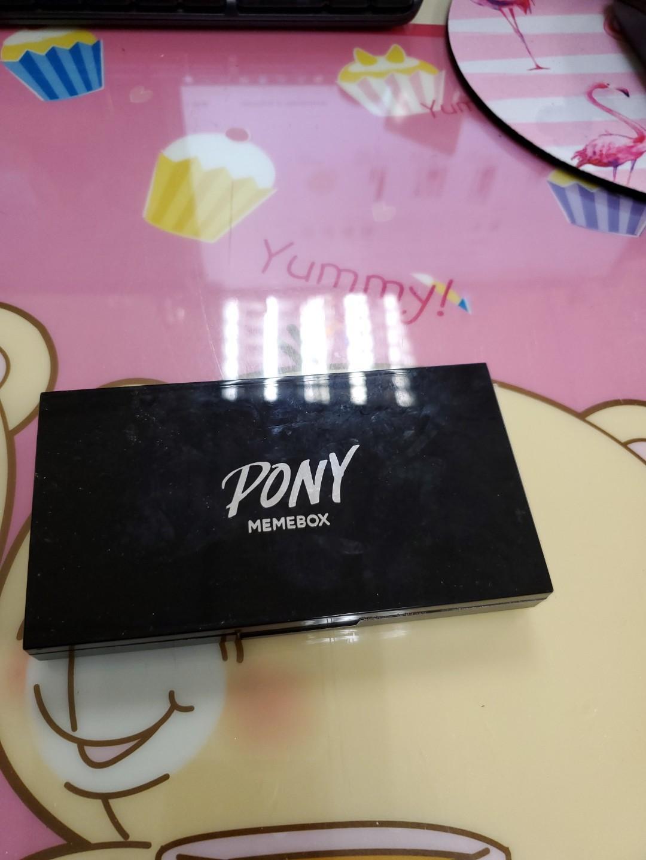 PONY MEMEBOX 8色眼影盤 斷捨離