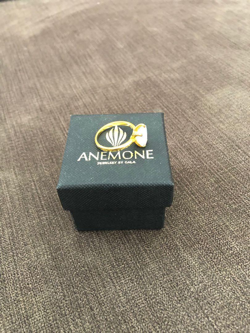 Rainbow Moonstone Ring. Handmade. Gemstone ring. Metal: 14K Gold filled. Ring size: US 8