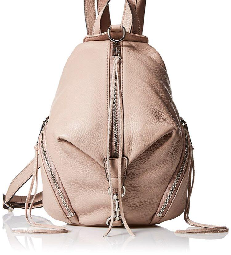Rebecca Minkoff Pebbled Leather Backpack - Regular Size