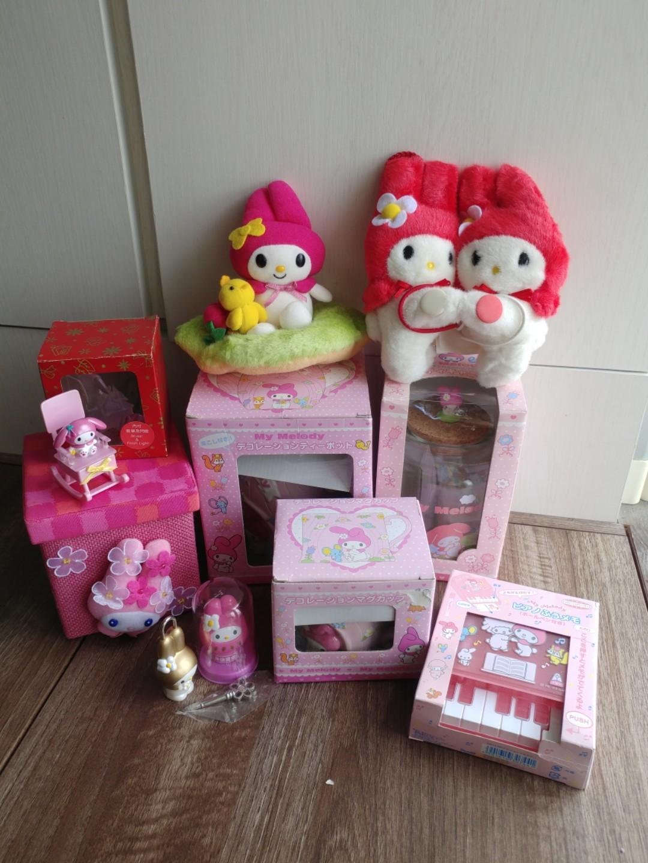 Sanrio Melody公仔 memo聖誕