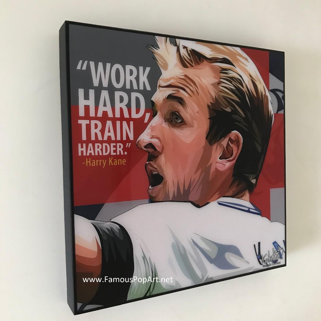 SOCCER Harry Kane Griezmann Totti PopArt! Wall Deco Portrait