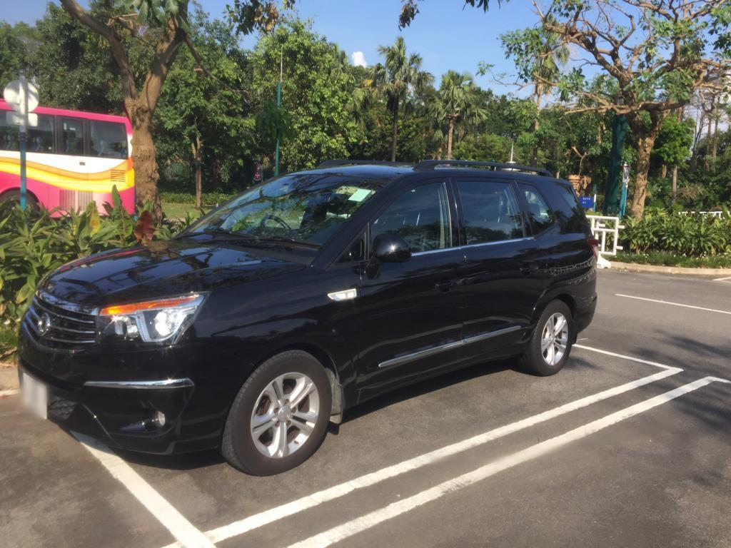 Ssanyong Stavic S1 Turbo Diesel Car 8 seater with sun roof
