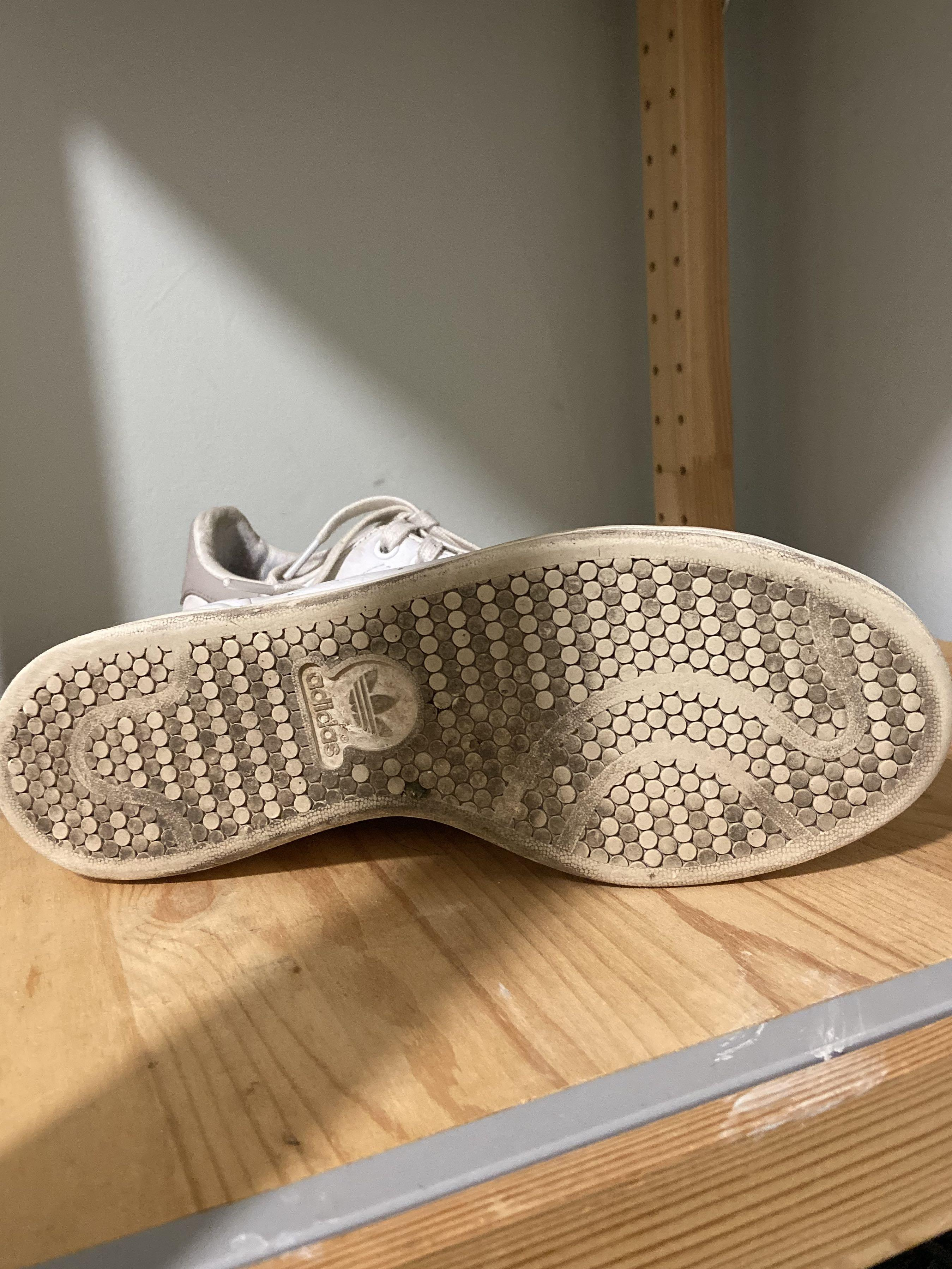 Stan Smith White and Grey Sneaker Runner Shoe size 10