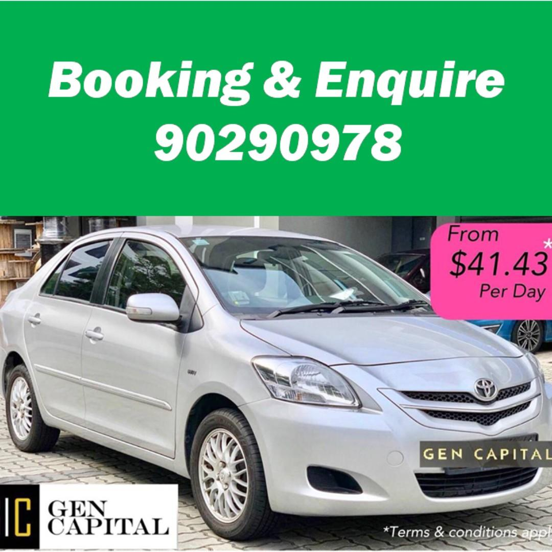 Toyota Vios - Immediate availability! $500 and take it away!