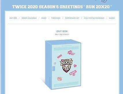 TWICE - 2020 SEASONS GREETINGS #SEASON #GREETING - PREORDER/NORMAL ORDER/GROUP ORDER/ALBUM GO + FREE GIFT BIAS PHOTOCARDS (1 ALBUM GET 1 SET PC, 1 SET GET 9 PC)