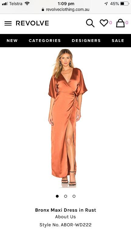 Wanting to buy - About us Bronx Maxi Dress - Rust - Size M (10-12)