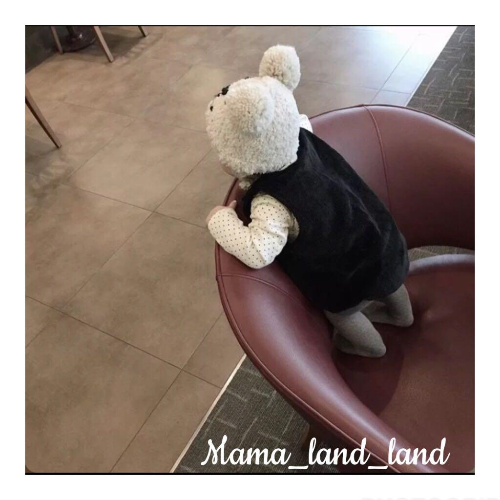 Winter ❄️ ~ Cutest comfy newborn / baby cotton bear 🐻 emoji face hat
