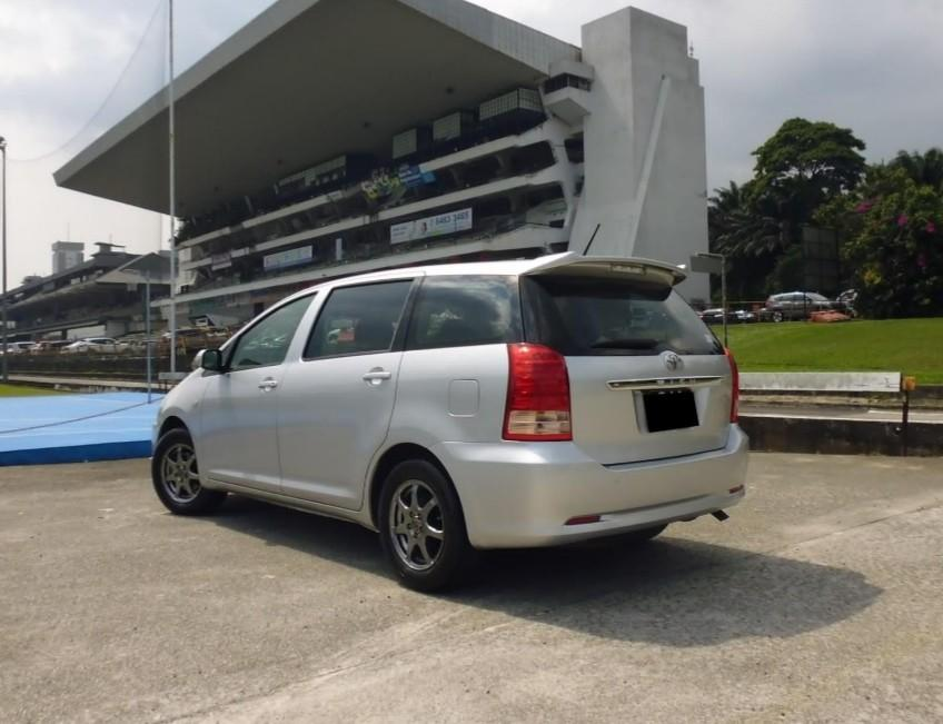 Wish MPV For Lease rent