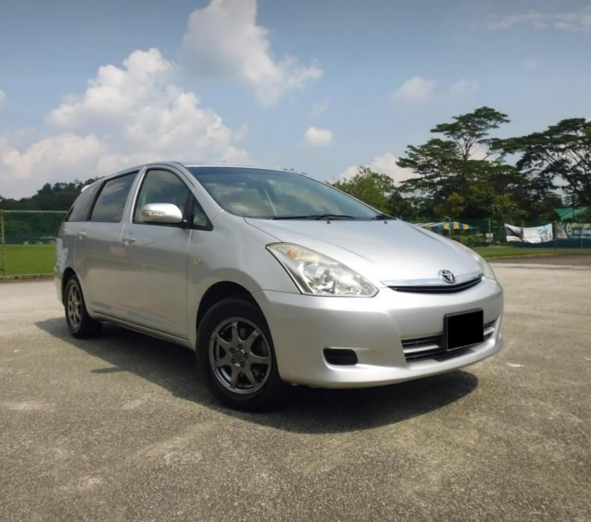 CB Wish MPV For Lease rent