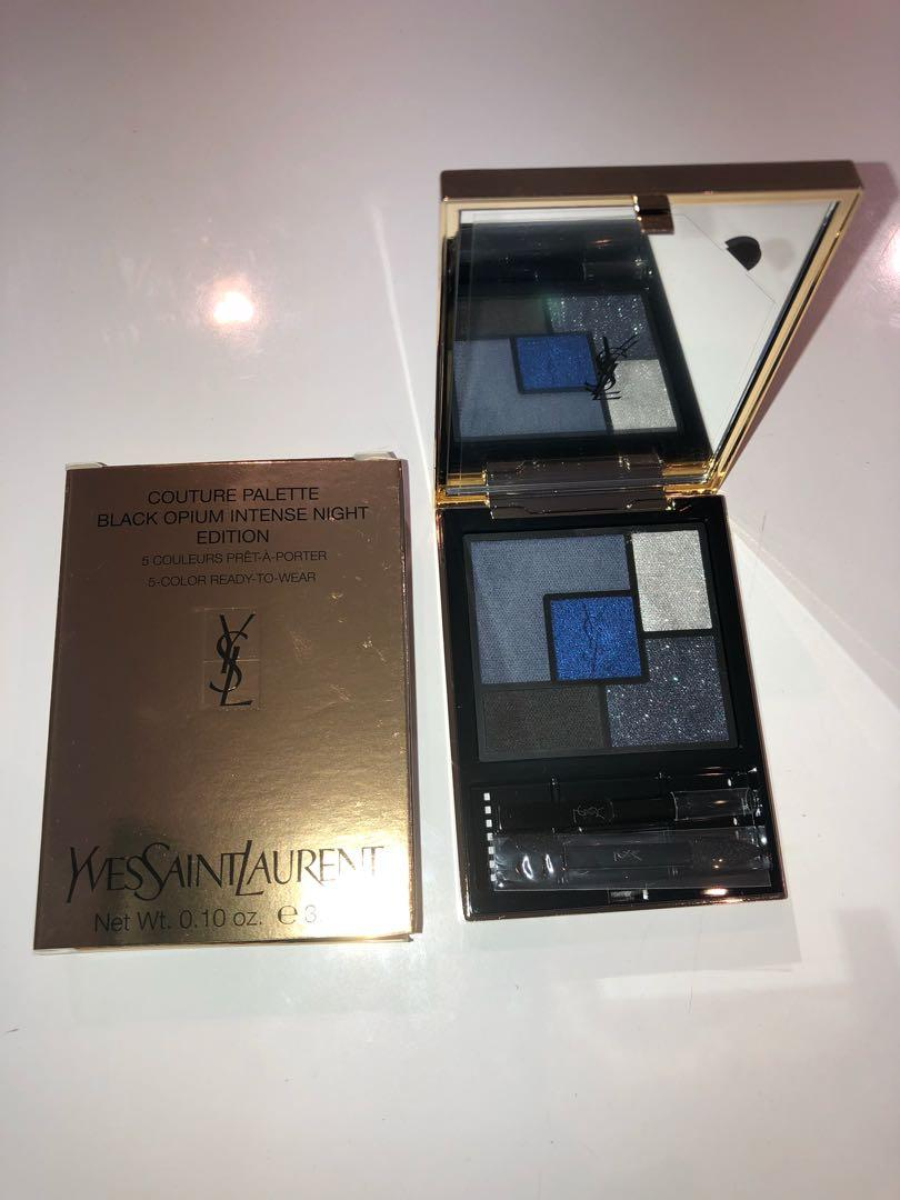 Yves saint Laurent YSL couture black opium intense night edition eyeshadow palette.