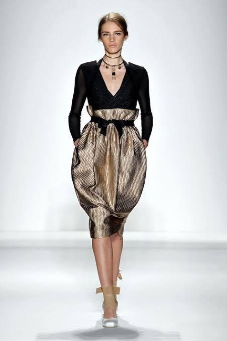 Zimmerman. Ringmaster tamer embossed paper bag skirt