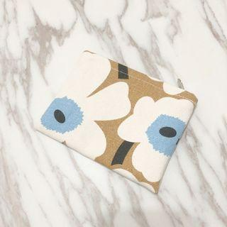 芬蘭小花置物袋/零錢包