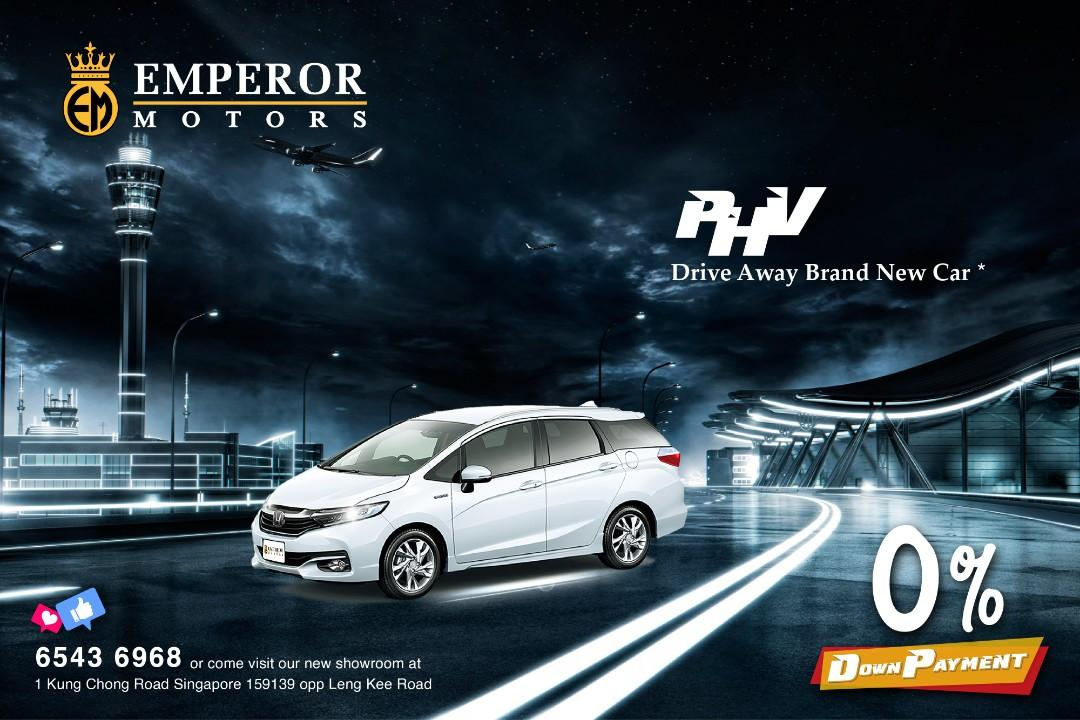 0% Down Payment For PHV! EASY LOAN APPROVAL!