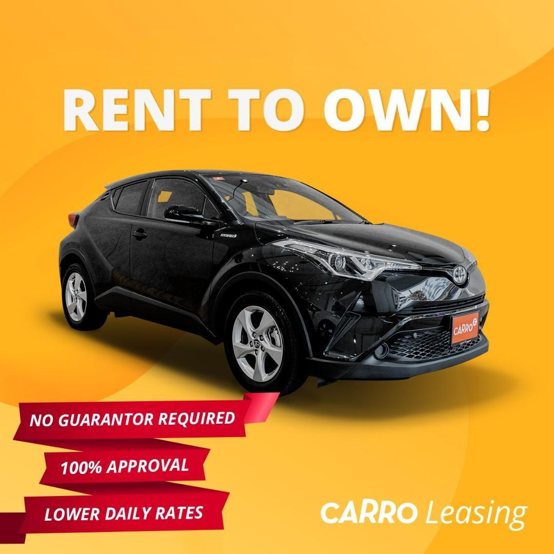 100% Approval for all Drivers! Brand New [TOYOTA CH-R HYBRID]