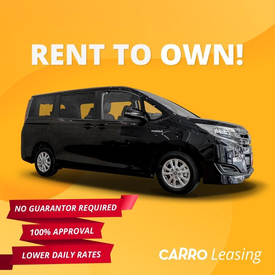 100% Approval for all Drivers! Brand New [TOYOTA NOAH HYBRID]