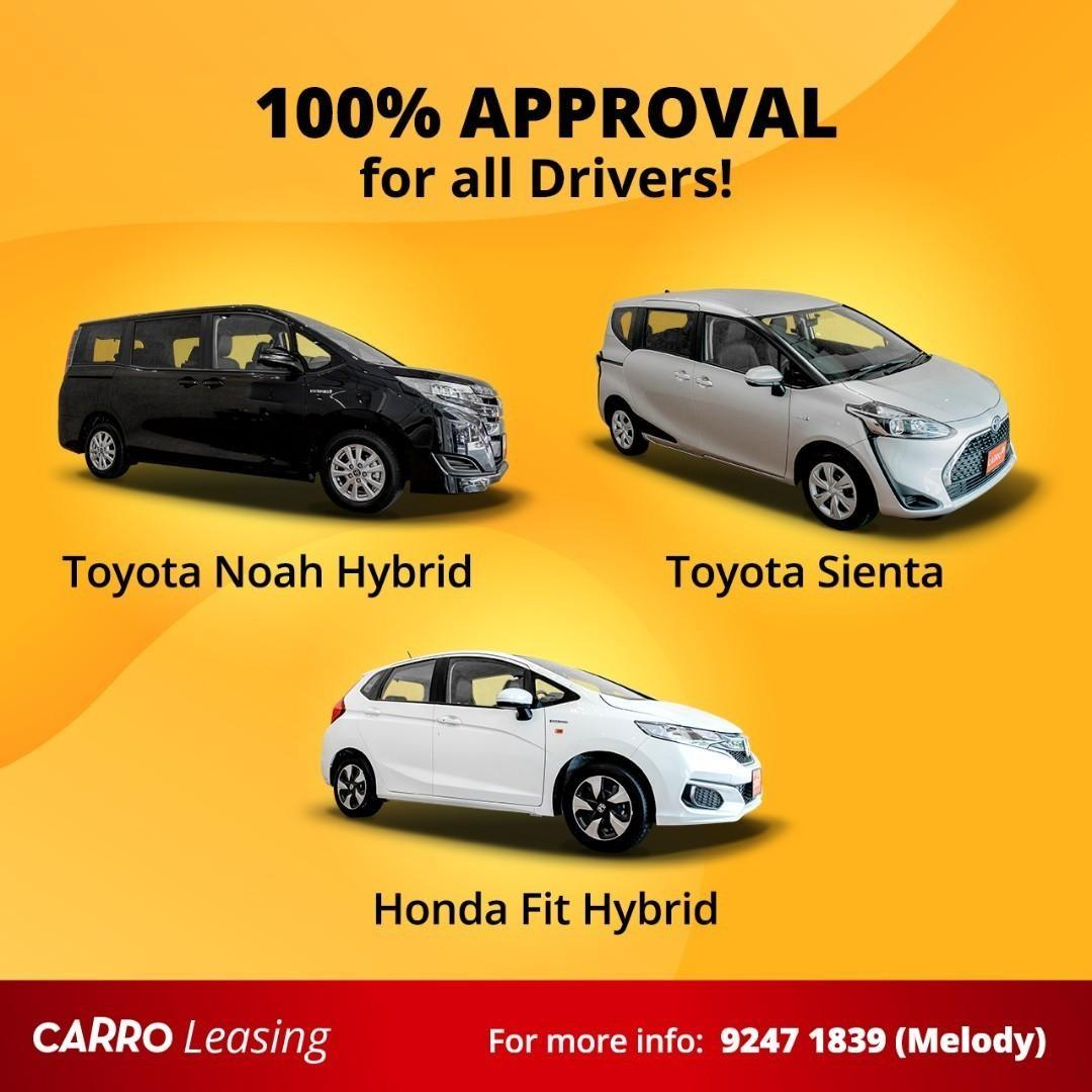 100% Approval for all PHV Drivers!