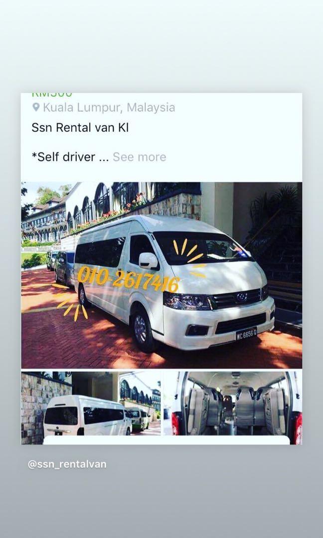 10/14/18 seater utk sewa/ www.wasap.my/+60102617416