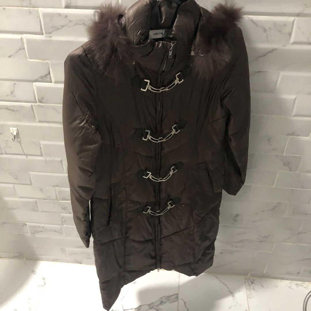 #1111special Brown Winter Coat