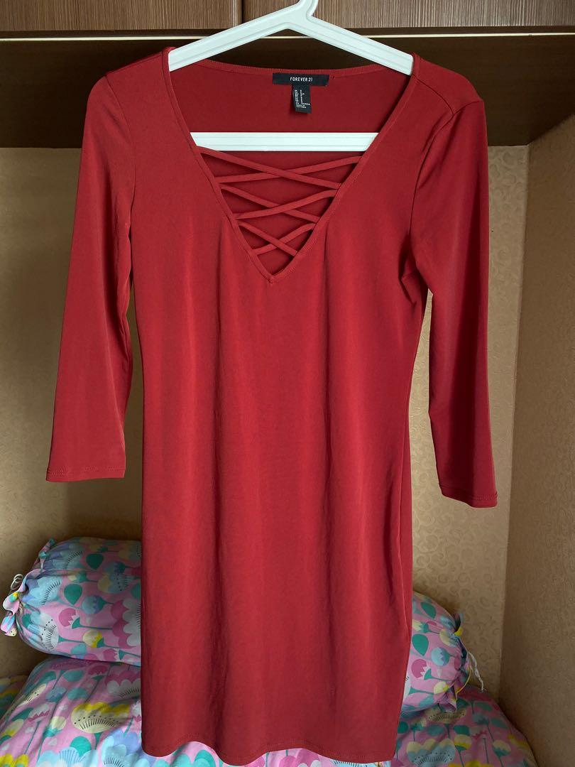 #1111special Red dress