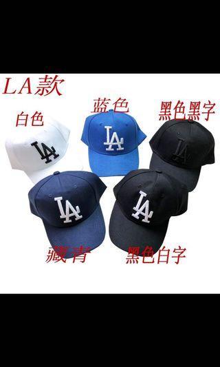 La白帽 棒球帽  老帽
