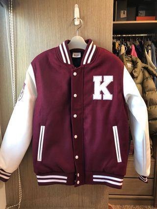 全新!韓國高麗大學虎頭棒球外套~超級難買到的夢幻逸品,質感破表👍本人160/50kg(有特別買大一點)有試穿圖提供參考,請看內文