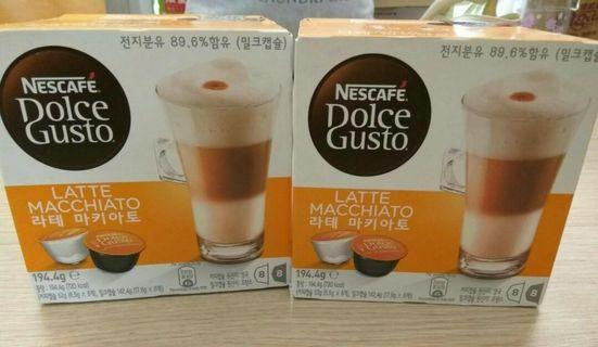 雀巢膠囊咖啡2盒