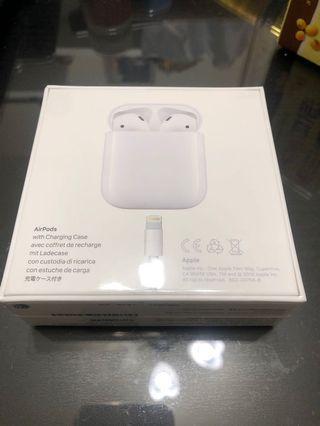 Iphone AirPods 二代無線耳機(含充電盒)
