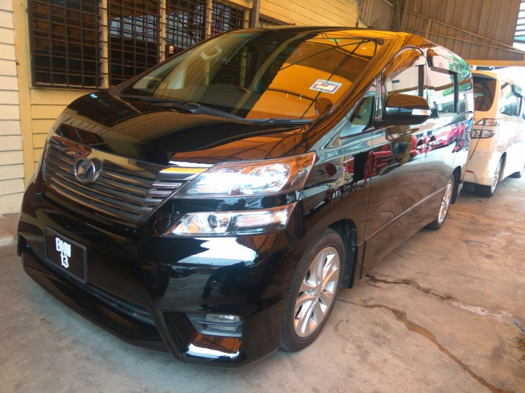 2009 / 2017 Toyota VELLFIRE 2.4 Z PLATINUM (A) 1 Owner  sold with no plate 13