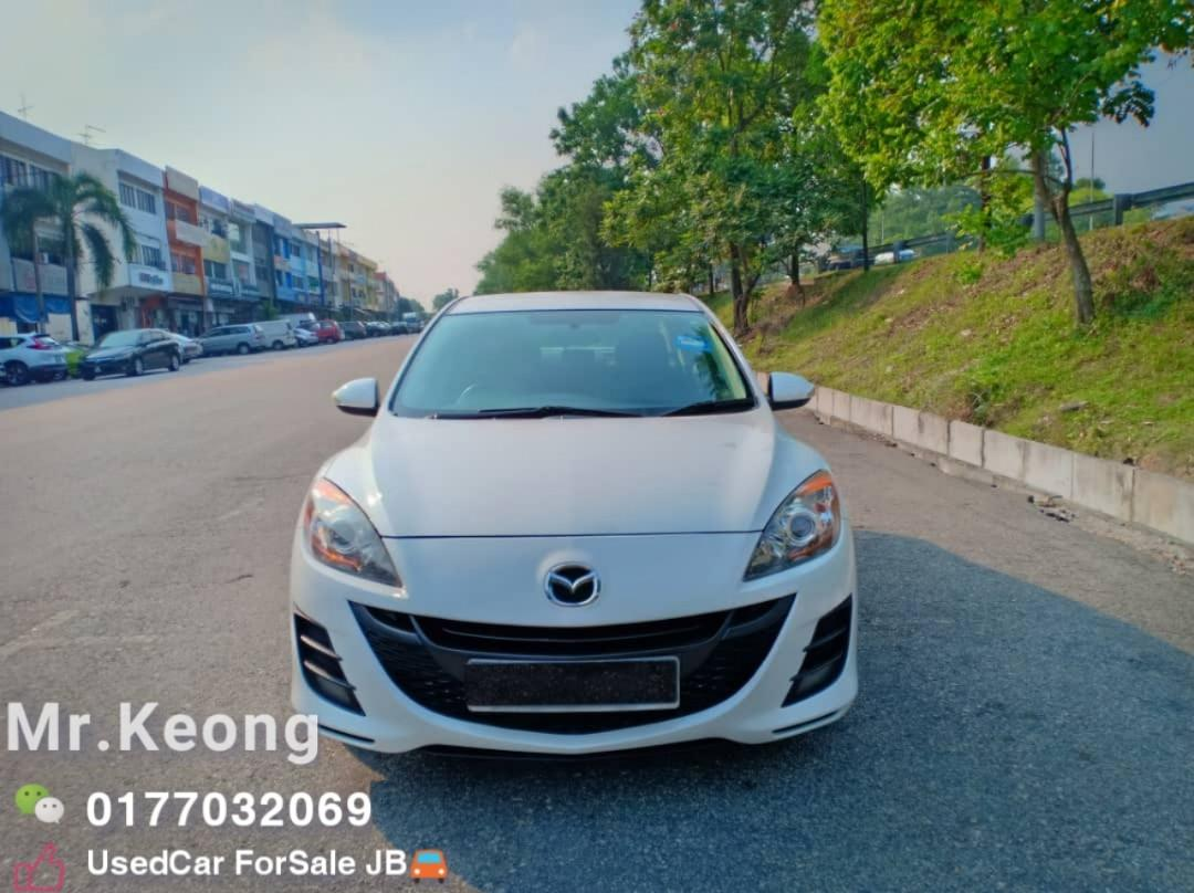 2011TH🚘MAZDA 3 1.6AT SPORT(SEDAN) Low MILEAGE 8XXXXKM Cash💰OfferPrice💲 Rm34,800 Only‼ LowestPrice InJB‼ Interested Call📲KeongForMore🤗