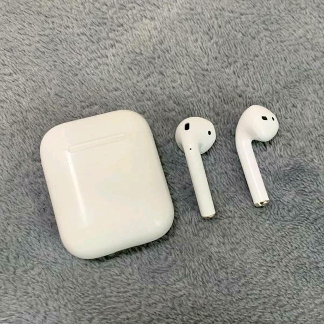 2019 New 1:1 Refurbished Apple MMEF2AM/AAAAA+ Air Pods Wireless Bluetooth Earphones with Charging Case for IOS/Android