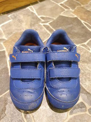 PUMA 男童鞋 (15cm) 側面會發亮