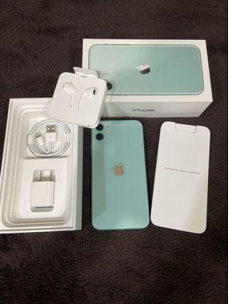 iPhone11 64G 綠色 幾近全新✨