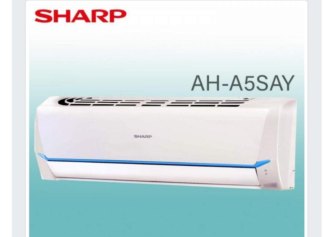 Ac 1/2 PK Sharp AH-A5SAY, R32, baru, garansi resmi