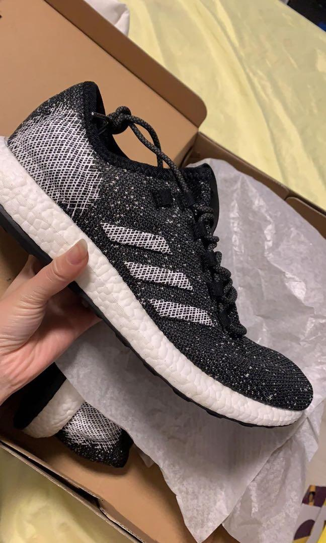 adidas pureboost black uk10 & uk11 - $75