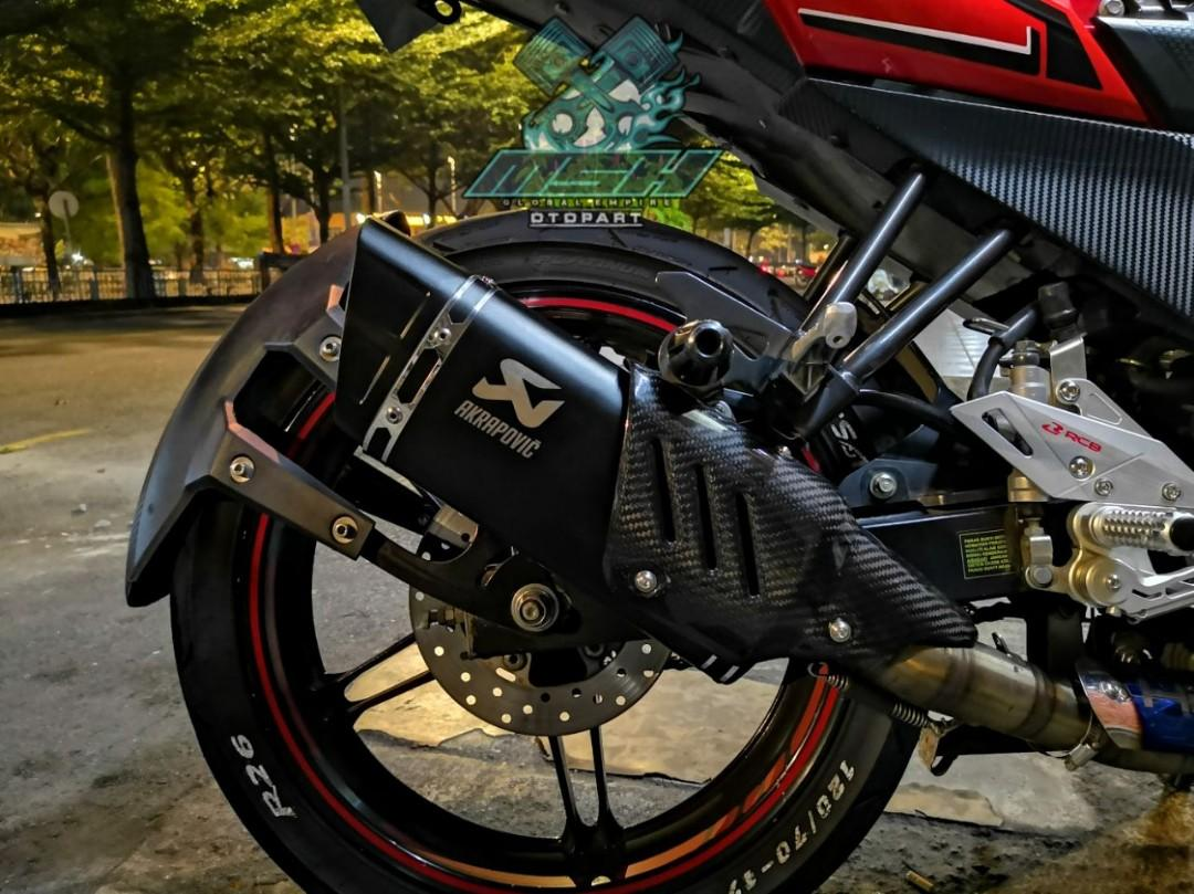 Akrapovic with cover Premium Muffler 51mm