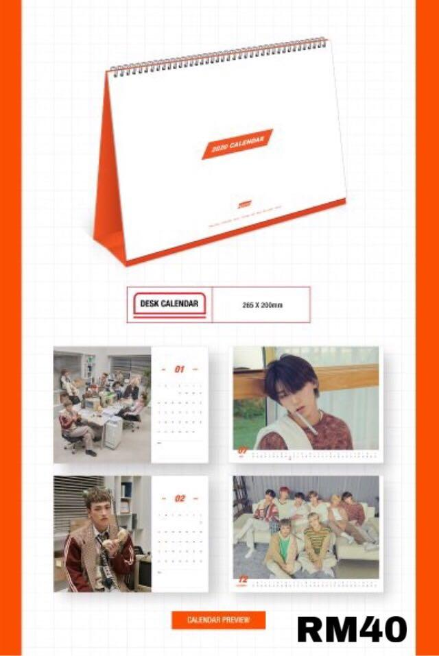 ATEEZ 2020 Season's Greetings - WILL YOU BE MY CO-WORKER [LOOSE ITEMS]