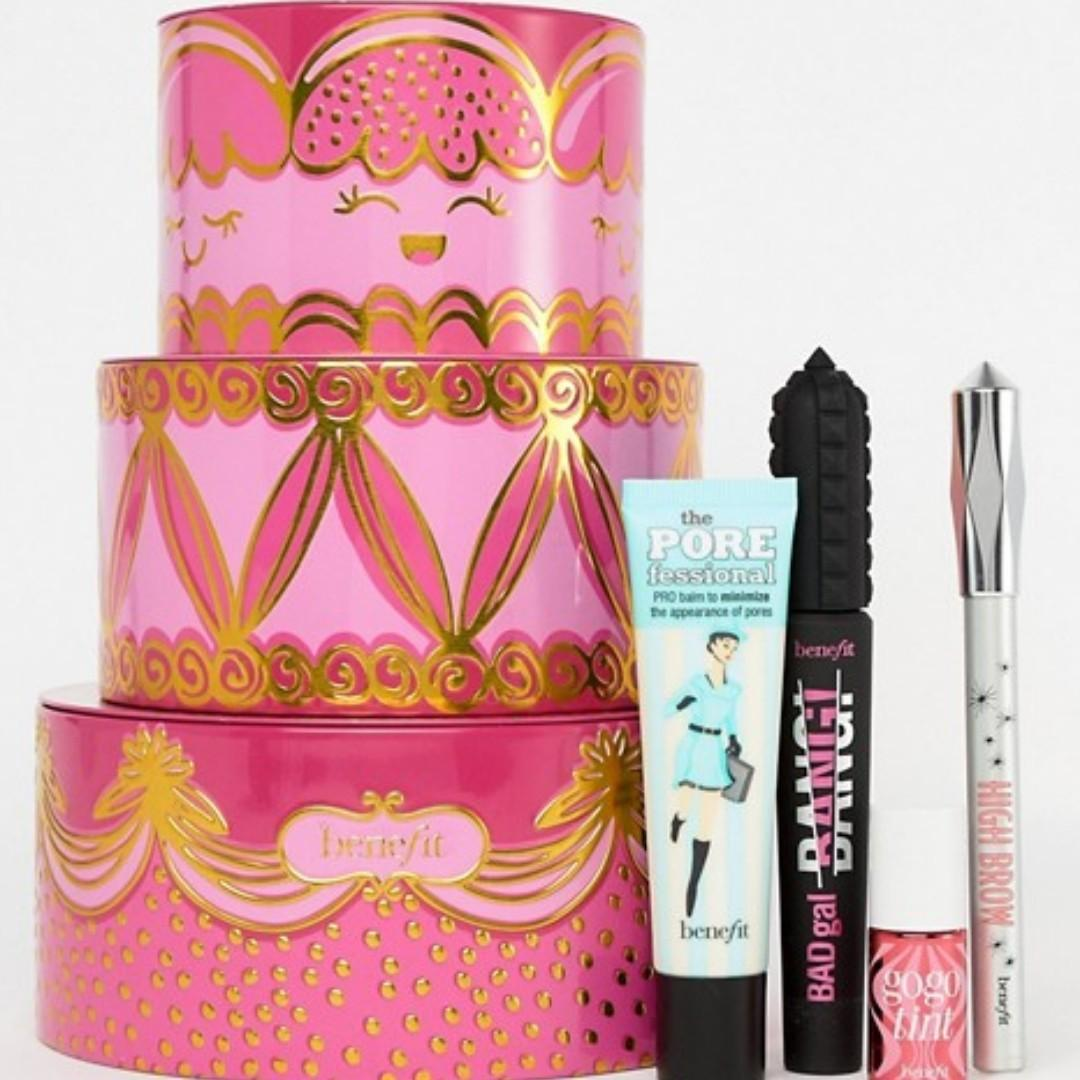 Benefit Cosmetics Triple Decker Decadence BRAND NEW & AUTHENTIC [PRICE IS FIRM, NO SWAPS] IDEAL GIFT VALUE $157