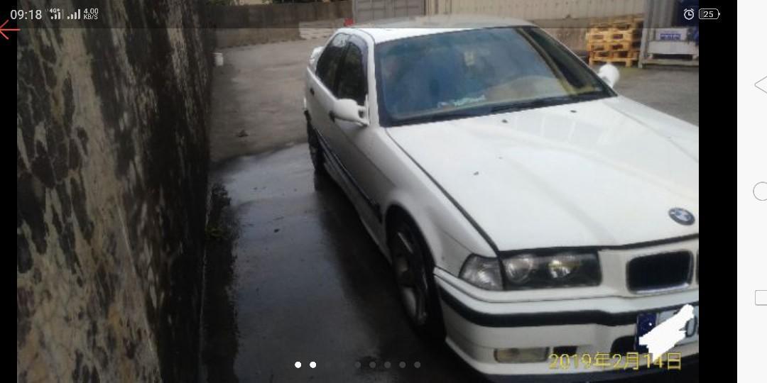 BMW E36 318 1.9  2.0稅金 換M50引擎2.5動力