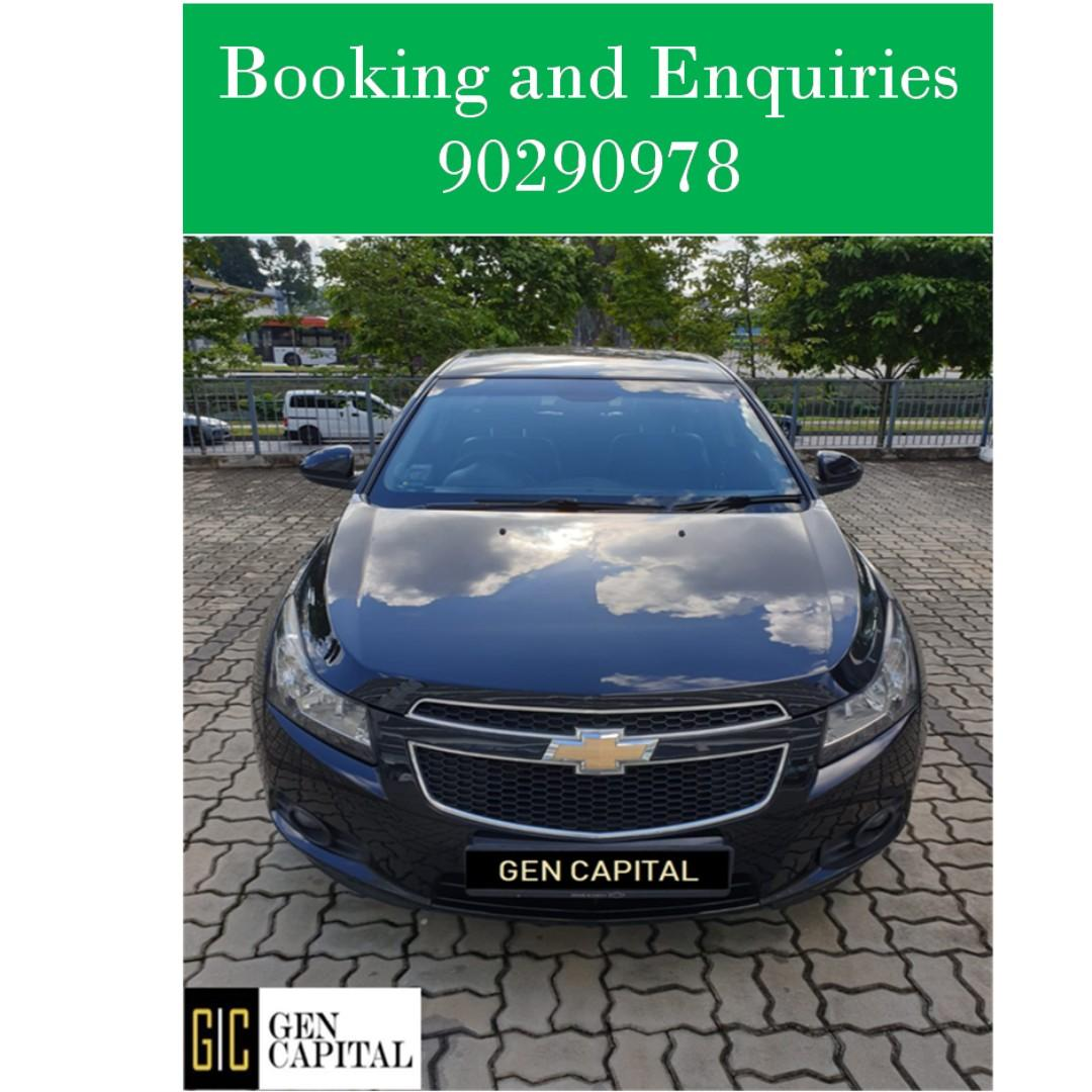 Chevrolet Cruze 1.5A - Just down $500 and drive off! Whatsapp @90290978 NOW!!!