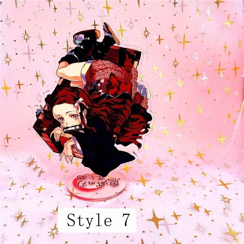 (Pre-order)Demon Slayer: Kimetsu no Yaiba Anime Accessories Acrylic Action Figures Stand