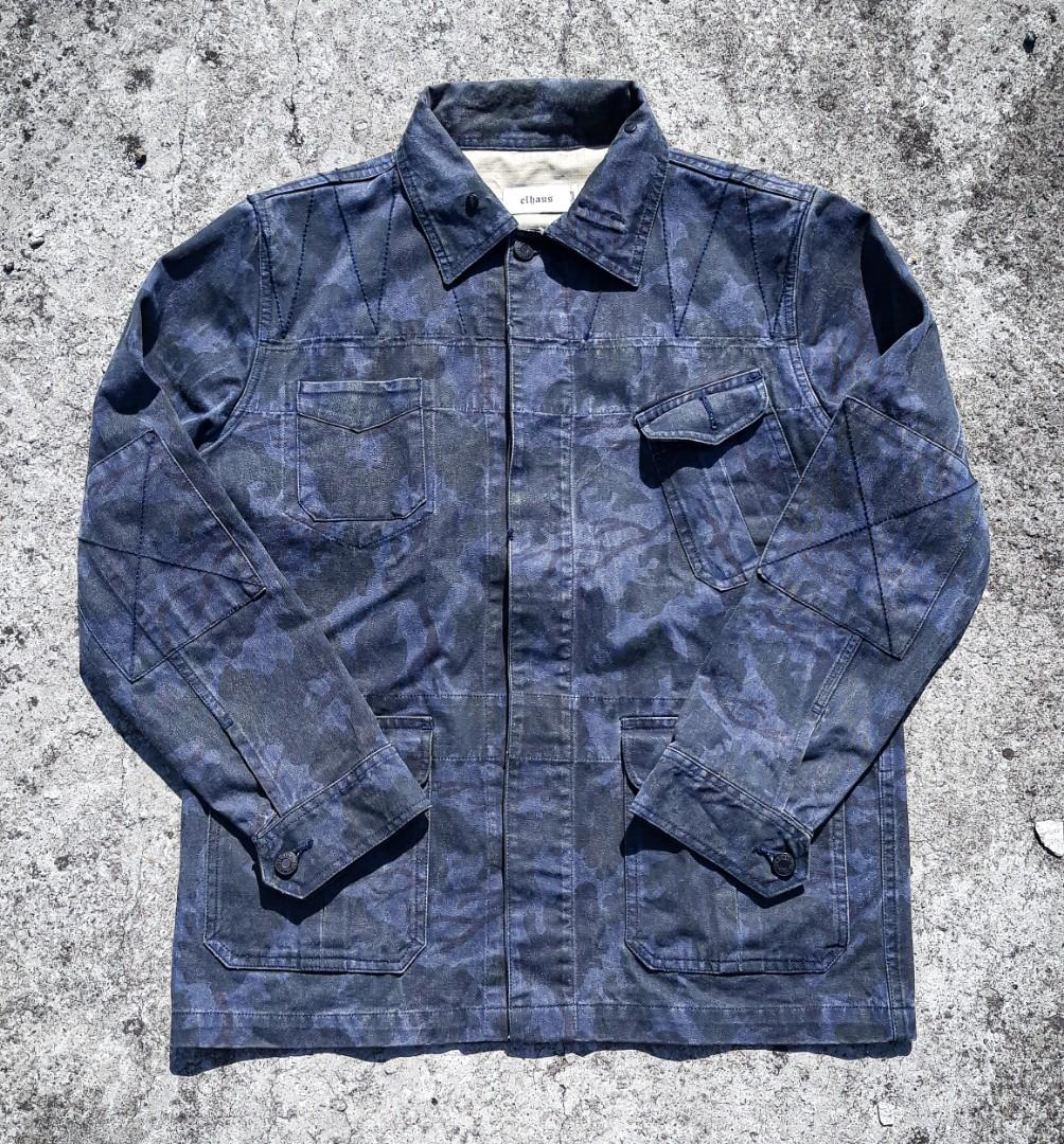 elhaus camo repress jacket