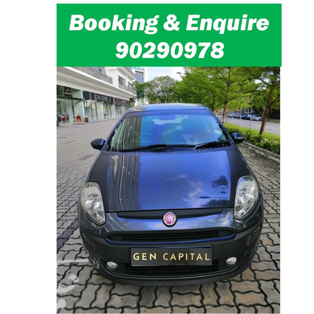 Fiat Punto Evo 1.4A - Just down $500 and drive off! Whatsapp @90290978 NOW!!!