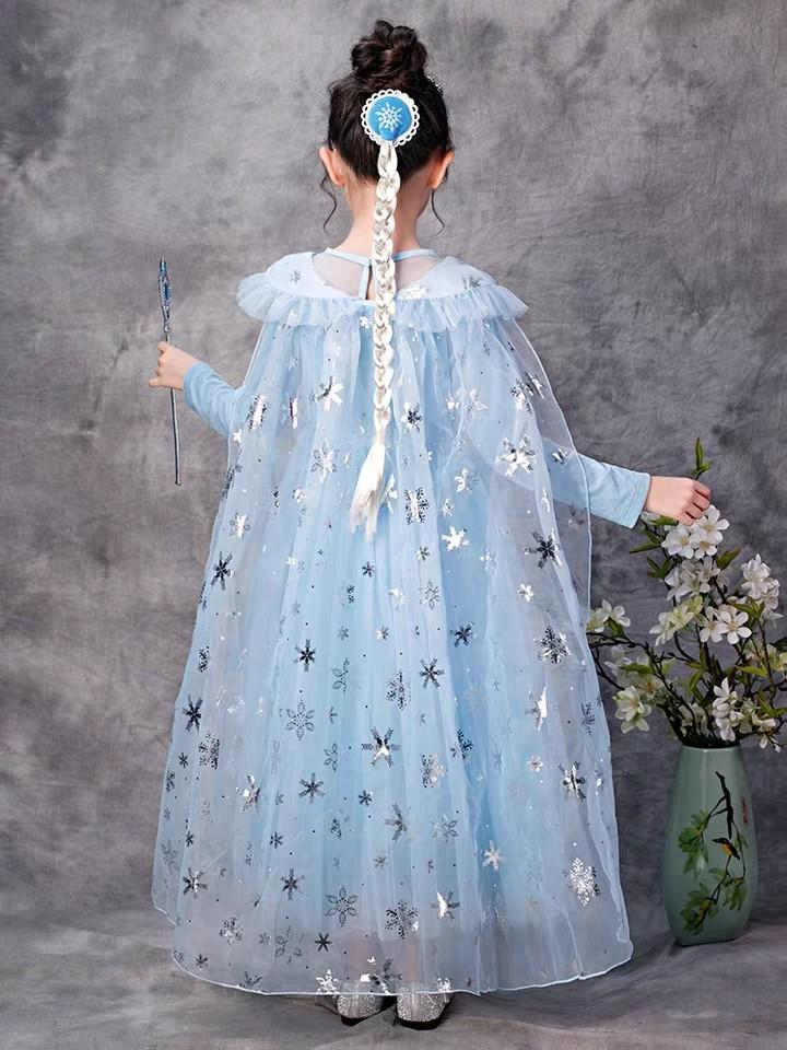 Frozen 2 Elsa Dress Kids Party Dress High Quality