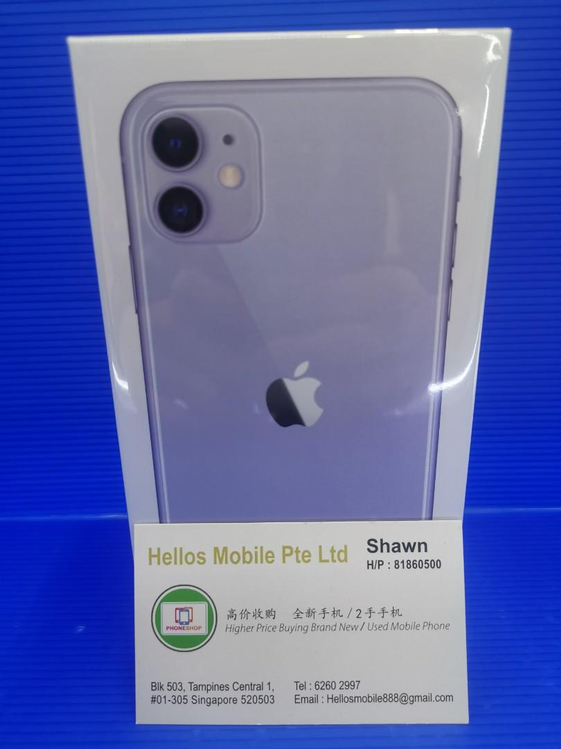 Iphone 11 128gb purple (New)
