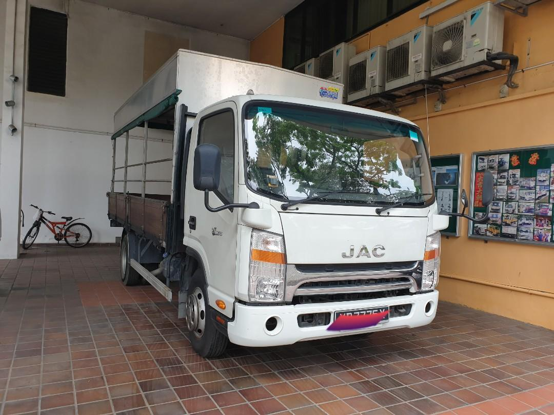 JAC 14 Ft Truck for Rent