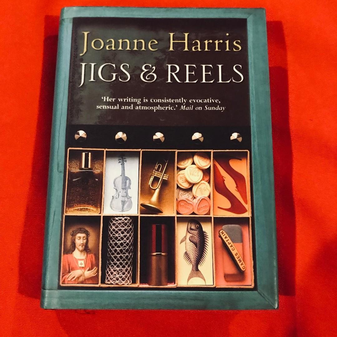 Jigs and Reels by Joanne Harris small hardcover book w/ dust jacket